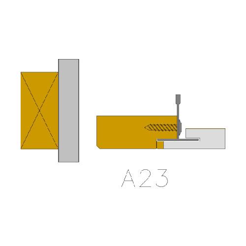 A23-kattoliittymat