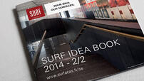 Surf Idea Book tarjoaa ideoita arkkitehdille.