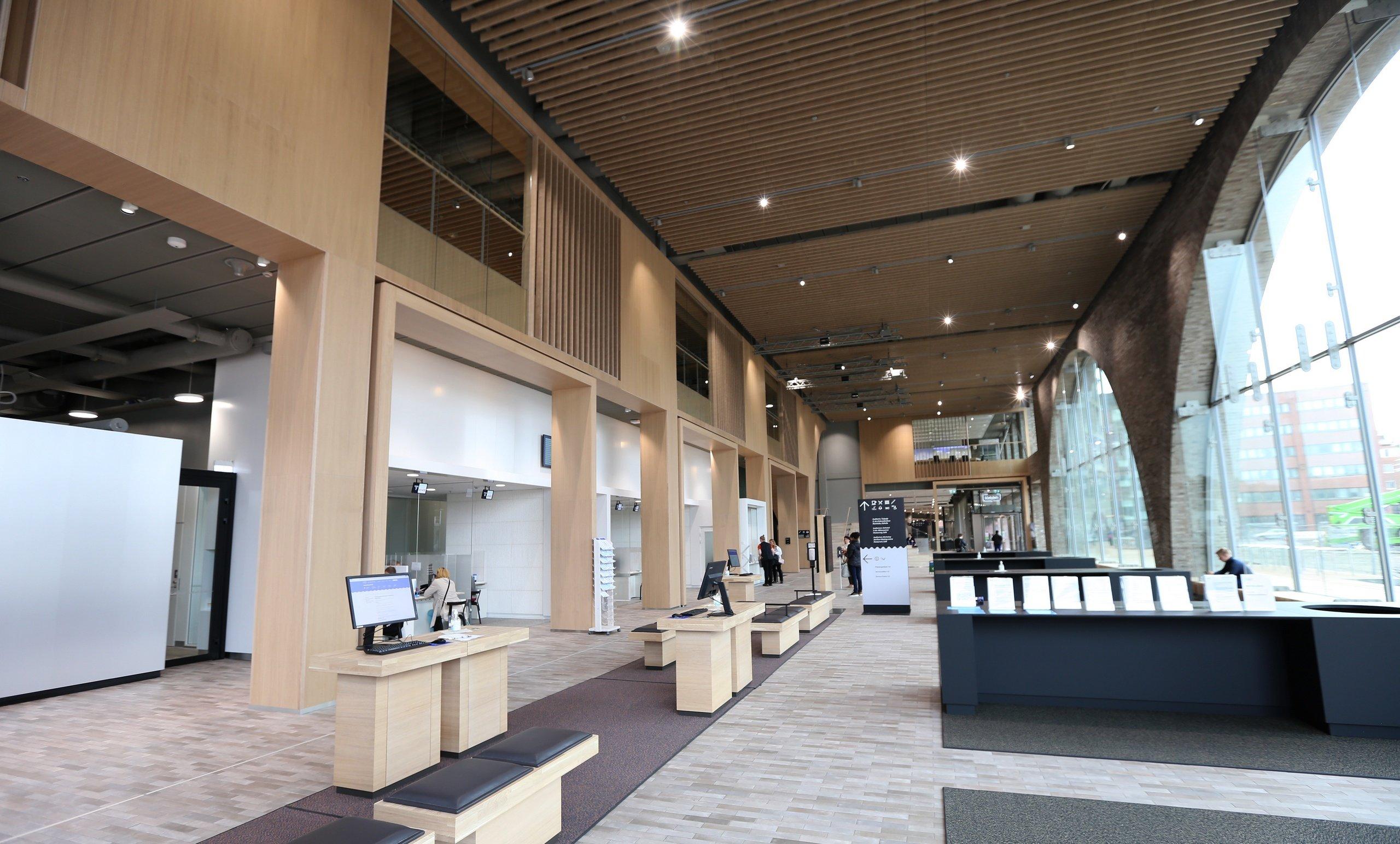 kaupunkiympäristötalo-aula